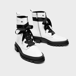 Zara women combat boots.